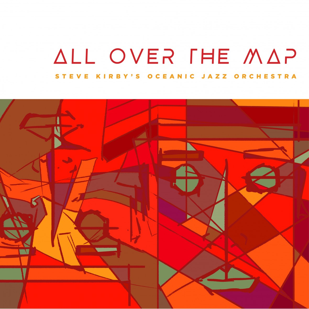 Click to pre-order All Over The Map